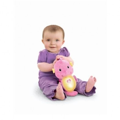 Fisher Price Soothe and Glow Seahorse Pink Soothing Music Toys for Baby Infant Newborn Girls Boys