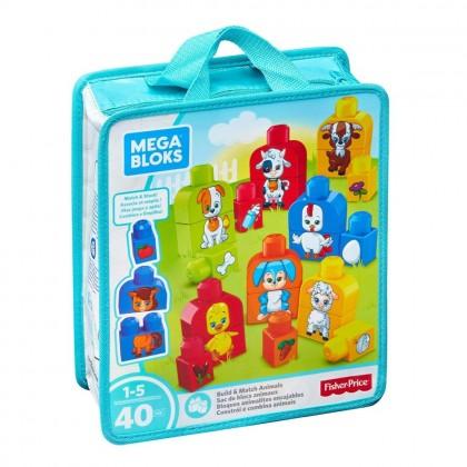 Mega Bloks Basics Build and Match Animals