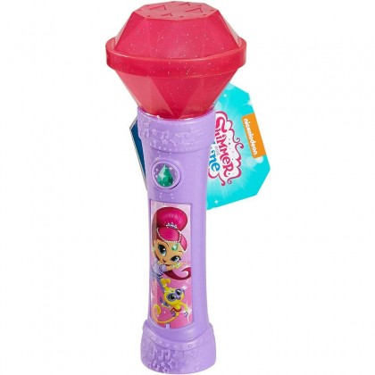 Shimmer and Shine Shimmer Genie Gem Microphone - Pink (DMW87)