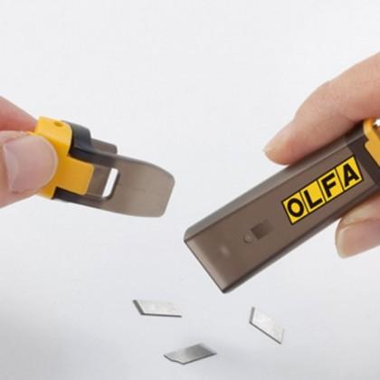 OLFA Compact Auto-Lock Cutter With a Detachable Disposal Case (DA-1)