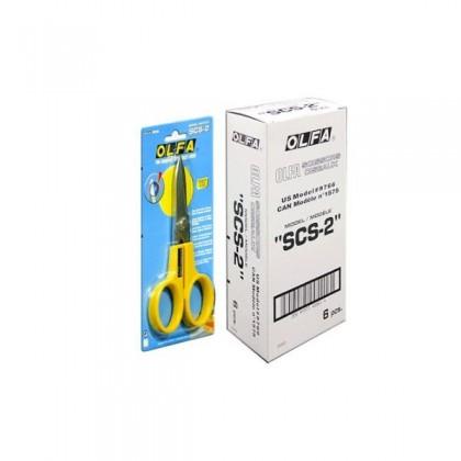 OLFA Scissors Stainless Steel 17cm (SCS-2)