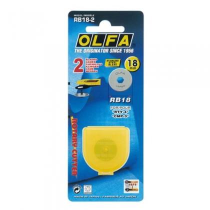 OLFA Cutter Blade Rotary 18mm (RB18-2)