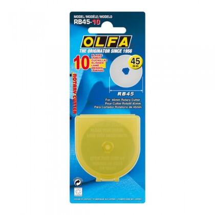 OLFA Cutter Blade Rotary 45mm (RB45-10)