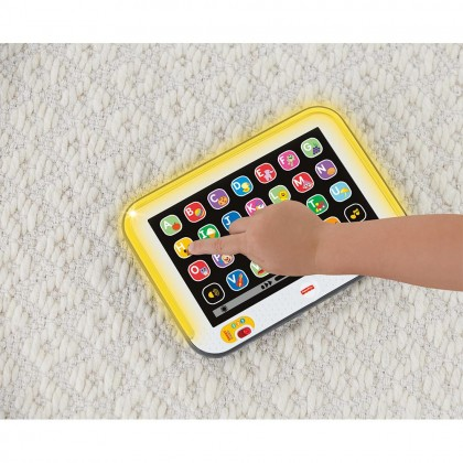 Fisher Price Laugh and Learn Smart Stages Tablet Electronic Education Toys for Kids Boys Girls Baby