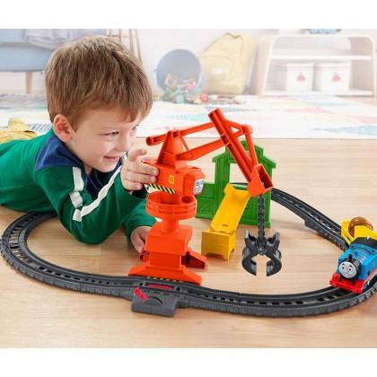 Thomas & Friends TrackMaster Cassia Crane And Cargo Set