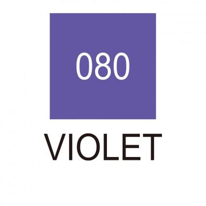 ZIG Clean Color Real Brush 080 Violet - RB-6000AT/080