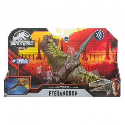 Jurassic World Sound Strike Pteranodon Dinosaur Action Figure (GJN64)