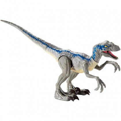 Jurassic World Savage Strike Velociraptor Blue (GCR54)