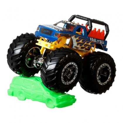 Hot Wheels Monster Trucks 1:64 Collection - Haul Y'All (FYJ44)
