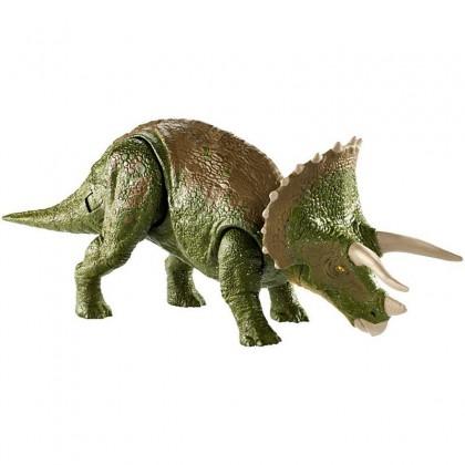 Jurassic World Dual Attack Triceratops (GDT38) Dinosaur Toys for Kids Boys Girls