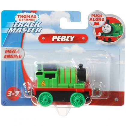 Thomas & Friends Trackmaster Push Along Metal Train Engines - Percy (GCK93)