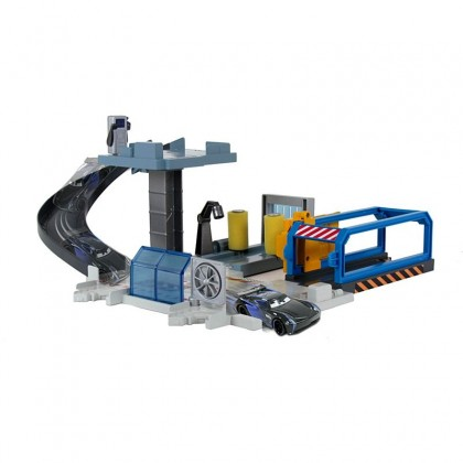 Disney and Pixar Cars Rust-Eze Tune-Up Center with Jackson Storm and Play Areas
