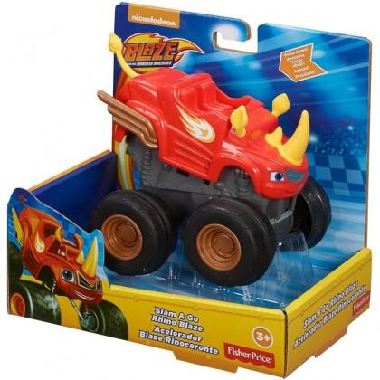 Nickelodeon™ Blaze and the Monster Machines™ Slam & Go Rhino Blaze (CGK22)