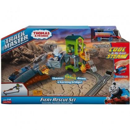 Thomas & Friends TrackMaster Fiery Rescue Set (GLK45)