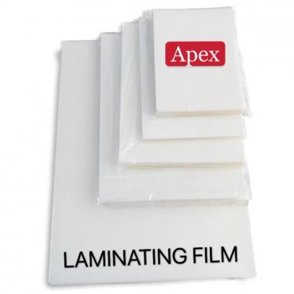 APEX A4 Laminating Film 125 Micron 100 Pcs Premium Quality