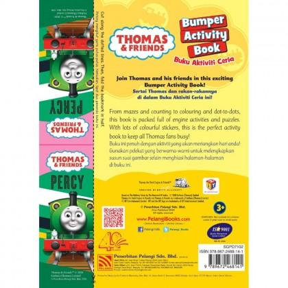 Thomas & Friends - Bumper Activity Book - Aktiviti Ceria 2 With Sticker