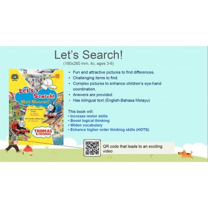 Thomas & Friends - Let's Search! Mari Mencari
