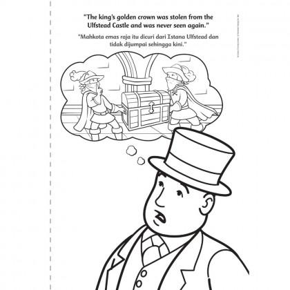 Thomas & Friends - the King of the Railway - Pencarian Mahkota Emas - a Colouring Storybook