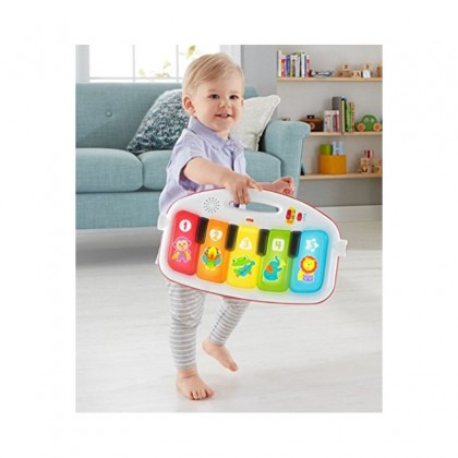 Fisher Price Deluxe Kick & Play Piano Activity Gym Playmat for Baby Infant Kid