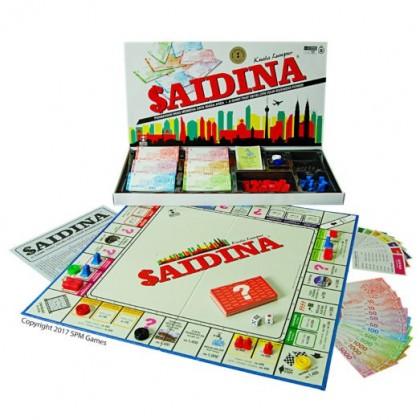 SPM Saidina  Kuala Lumpur Board Game SPM92