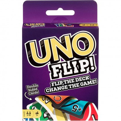 UNO Flip Card Game Mattel