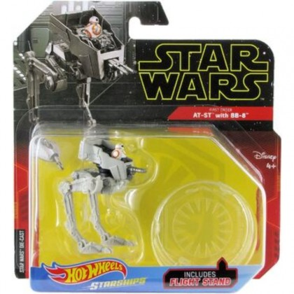 Hot Wheels Star Wars AT-ST With BB-8 (FYT65)