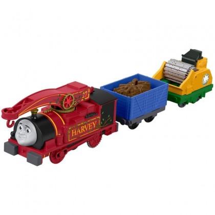 Thomas & Friends TrackMaster Motorized Helpful Harvey (FTF31)