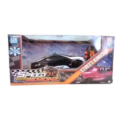 EMCO Speed Demonz Street Kings Mini RC Polis Kids Toys
