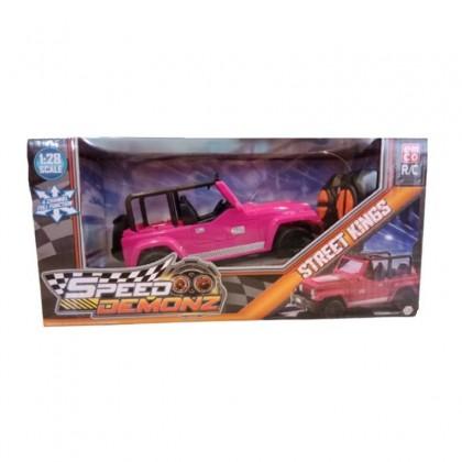 EMCO Speed Demonz Street Kings Mini RC Pink Kids Toys